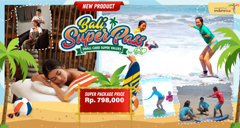 Bali Super Pass Ocena Walker + Spa
