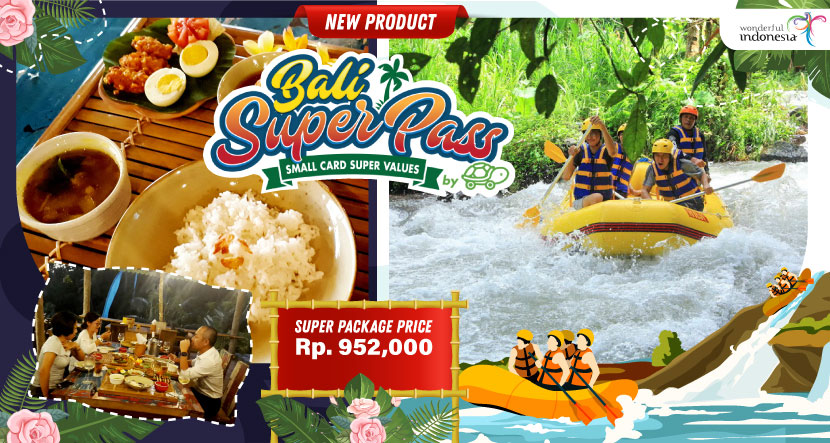 Bali Super Pass Watersport + Spa